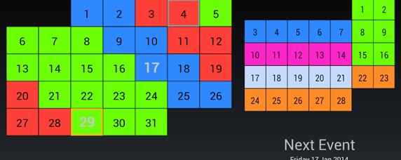 Shift Calendar 2